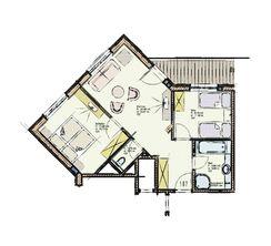 Grundriss Hochzillertal Suite 107